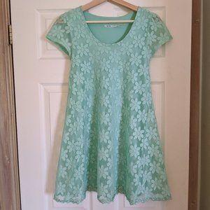 Mint Green Dress by Kimchi Blue